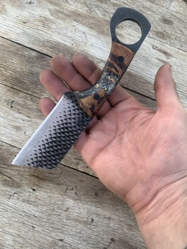 Hand forged Rasp Cleaver